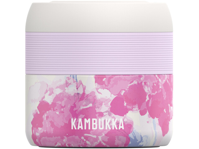 Kambukka Bora Food Jar 400ml, pink blossom